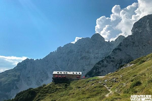 Berghütte im Kaisergebirge