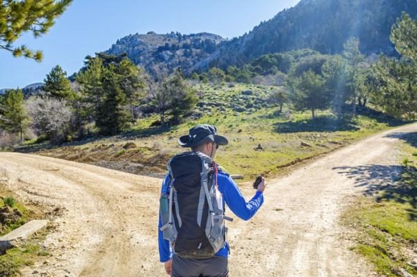 Fast wie beim Wandern - finden Sie den passenden Weg an Ihr Urlaubsziel.