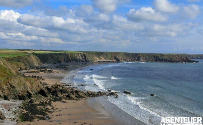 Küstenstreifen in Pembrokeshire, Wales