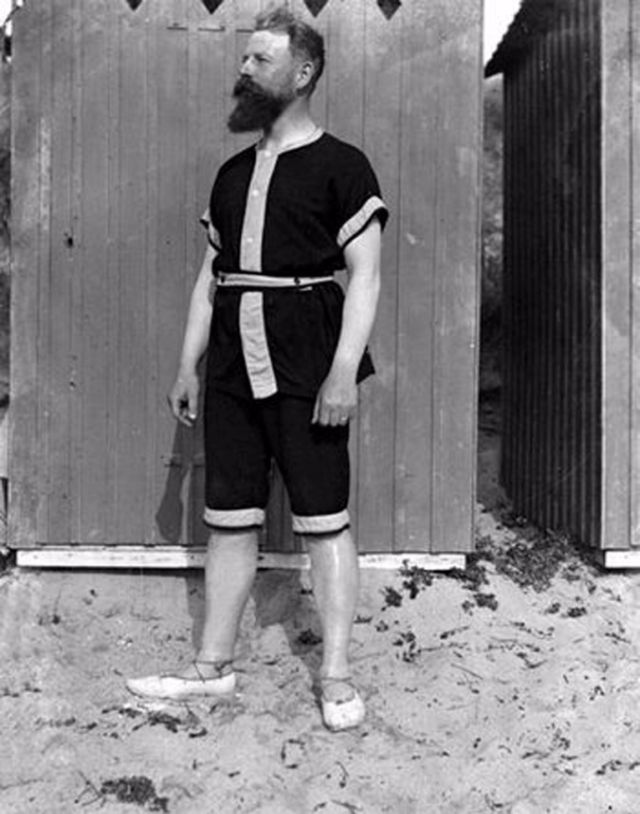 História da Sunga de Praia 1900