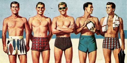 História da Sunga de Praia 1950