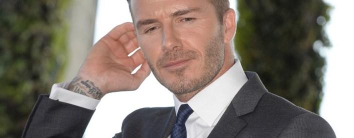 David Beckhan materializou a expressão metrossexual