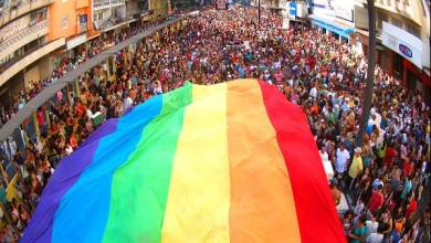 Photo of Rainbow Fest, um grande evento LGBT que luta contra homofobia