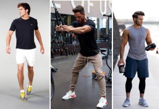 Look masculino com tênis