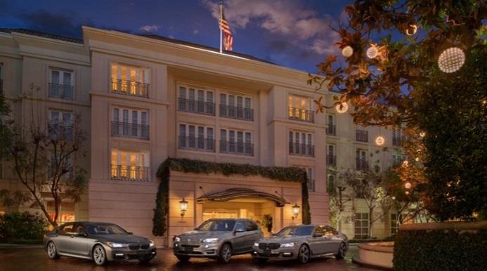 Hotéis de Luxuosos The Península Beverly Hills