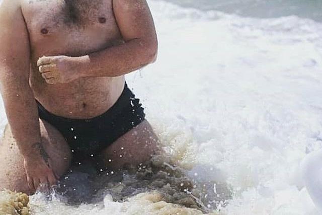 Sunga de Praia Boxer pra Homem Gordo