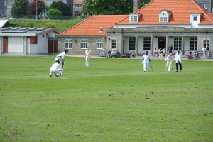 Arul Senthil combined with John Davey in 110 run stand