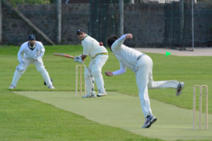 Hameed hit a maiden 50 at number 10