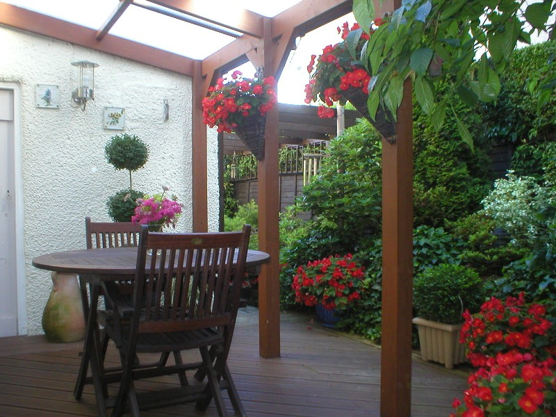 Perfect Aberdeen patio