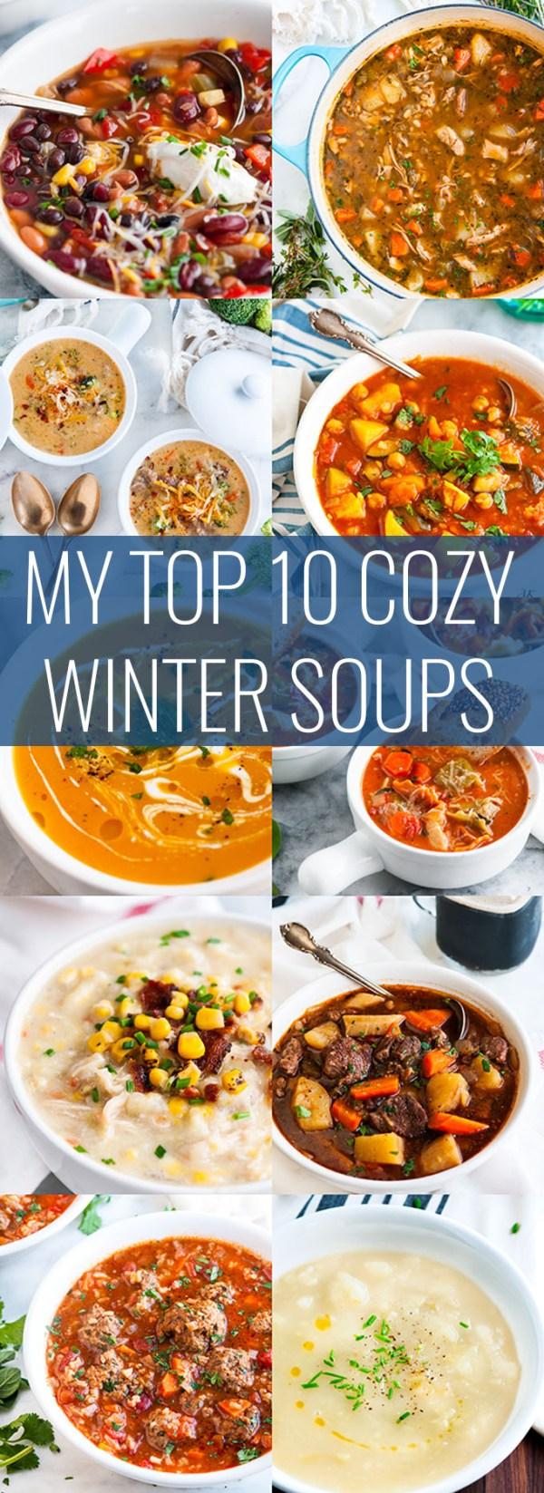 10 Cozy Winter Soups | aberdeenskithcen.com