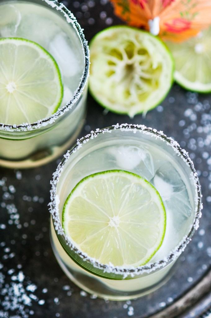 Classic Margaritas On The Rocks | aberdeenskitchen.com