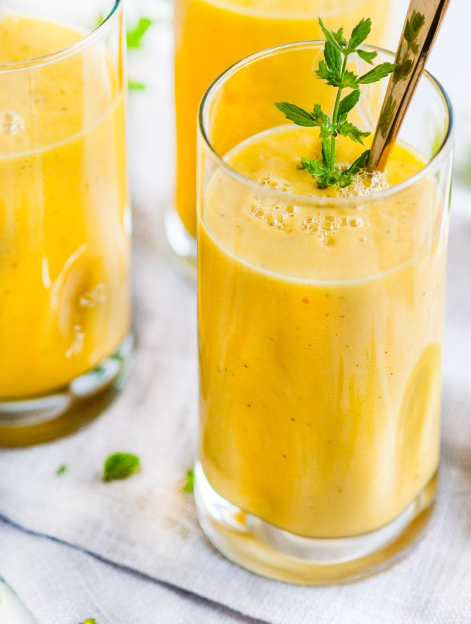 Golden Tumeric Fruit Smoothie
