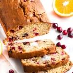 Holiday Orange Cranberry Bread | aberdeenskitchen.com