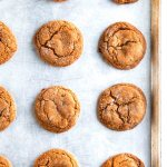 Chewy Ginger Molasses Cookies   aberdeenskitchen.com