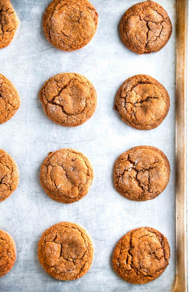 Chewy Ginger Molasses Cookies | aberdeenskitchen.com