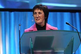 Menna Richards in 2003