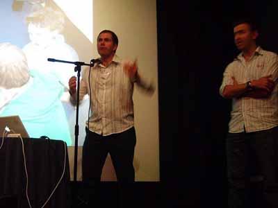 Steve Bellis presenting his Rural Stories