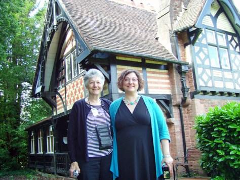Donna Warner and Cheryl Colan