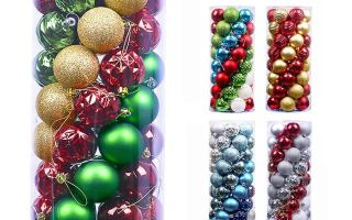 Top 10 Best Christmas Ball Ornaments Decoration in 2018 Review