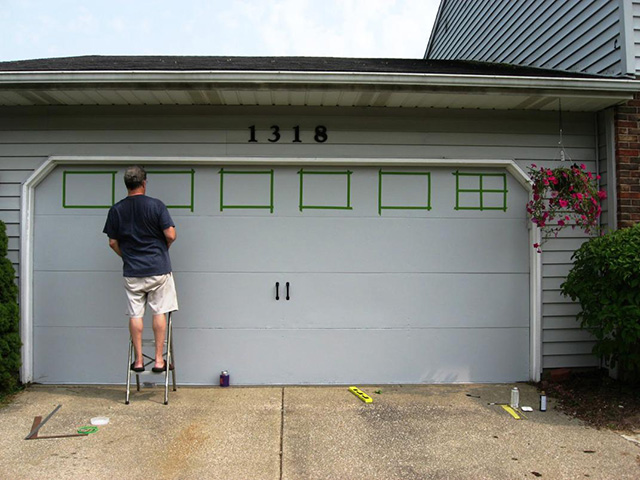 Painting Your Garage Door - 7 Things You Need to Know on Garage Door Painting Ideas  id=66035