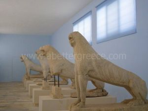 Delos island museum, Cyclades, Greece