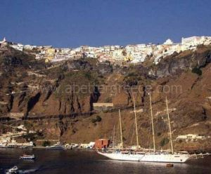 Santorini island guide Greece