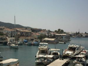 Spetses port, Greece
