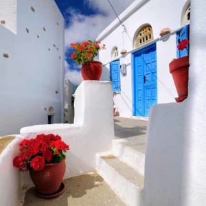 Tinos villages Cyclades Greece