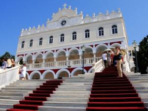 holidays on Tinos island Cyclades Greece