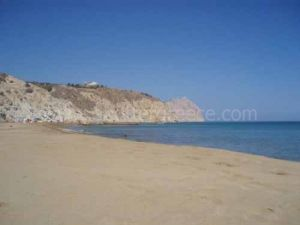 beaches Anafi island, Cyclades, Greece