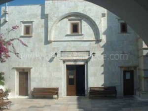 City hall on Mykonos, Greece