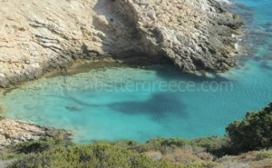 Donousa beaches Greece