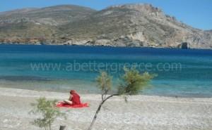 Folegandros beaches Cyclades Greece