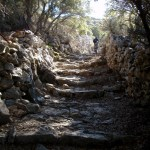 hiking on Naxos island in Greece