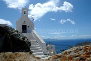 Serifos churches, Cyclades, Greece