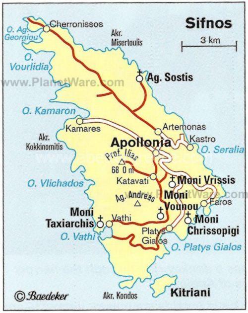 Holidays on Sifnos island Tour Site