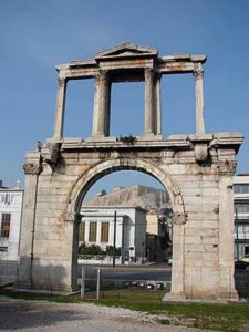 Hadrian's Arch Athens, Greece