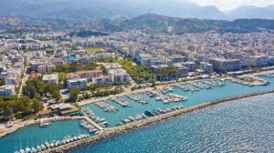Patras city, Attica, Greece