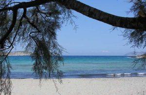 Οι παραλίες στη Σχοιννούσα