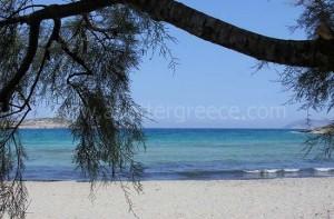 Schinnousa beaches, small Cyclades, Greece