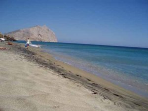 οι παραλίες στην Αναφη