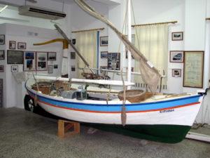 το ναυτικό μουσείο στη Μήλο στις Κυκλάδες