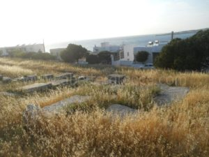 The history of Paros island