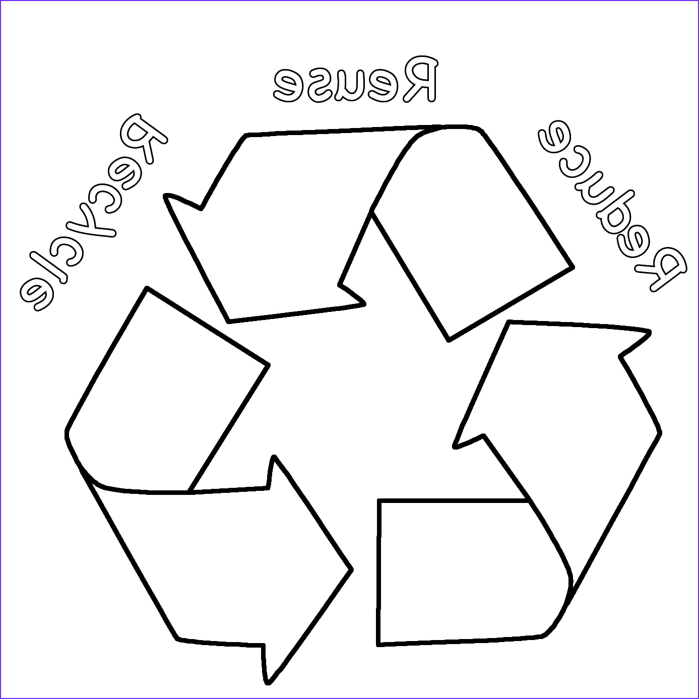 12 Beautiful Recycling Coloring Pages Gallery