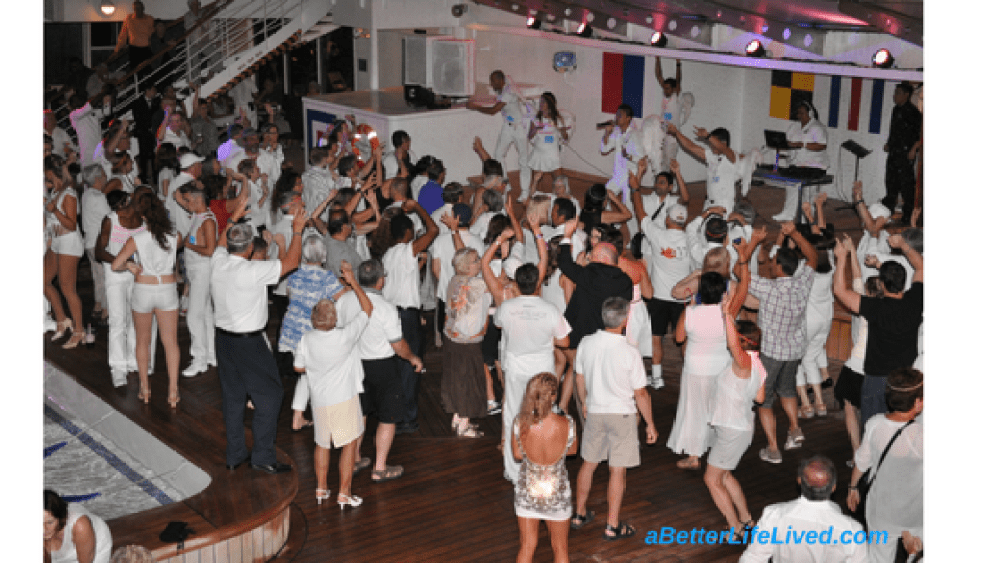 "Family Cruise-Norwegian Cruse Line's ""White Hot Party"""