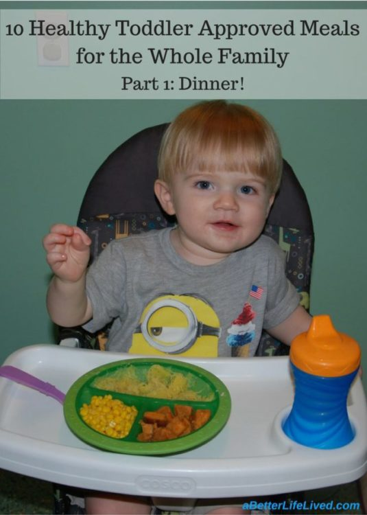 healthy toddler approved dinners for the whole family!
