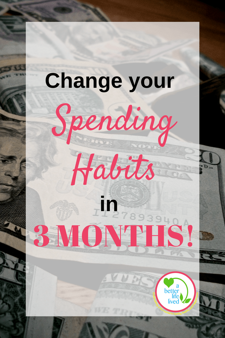 Go on a 3 month spending freeze and radically change your spending habits permanently!