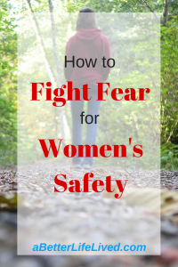Women's safety is an increasingly important issue. Overcome the fear and tackle the issue head on.
