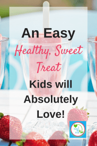 We all need a sweet treat every now and then. But there's no reason we can't have them be good for us. Here's the best summertime healthy sweet treat!
