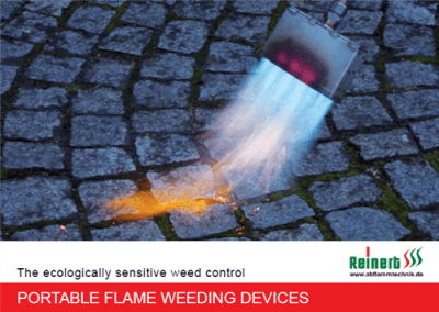 BROCHURE PORTABLE FLAME WEEDING - DEVICES